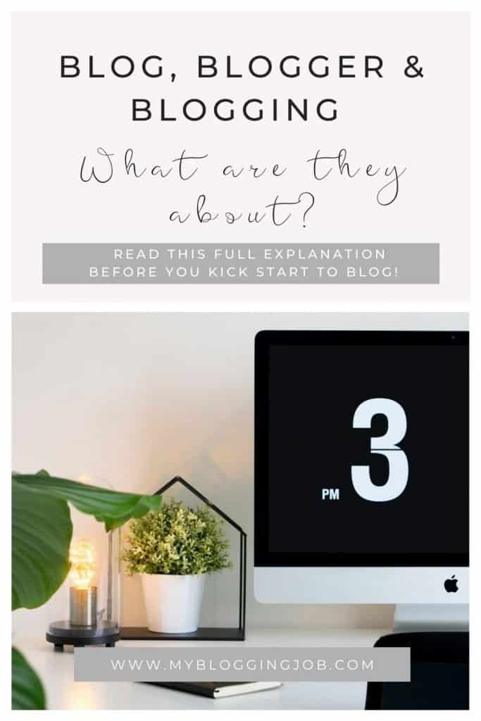 Blog blogger blogging what are they 01