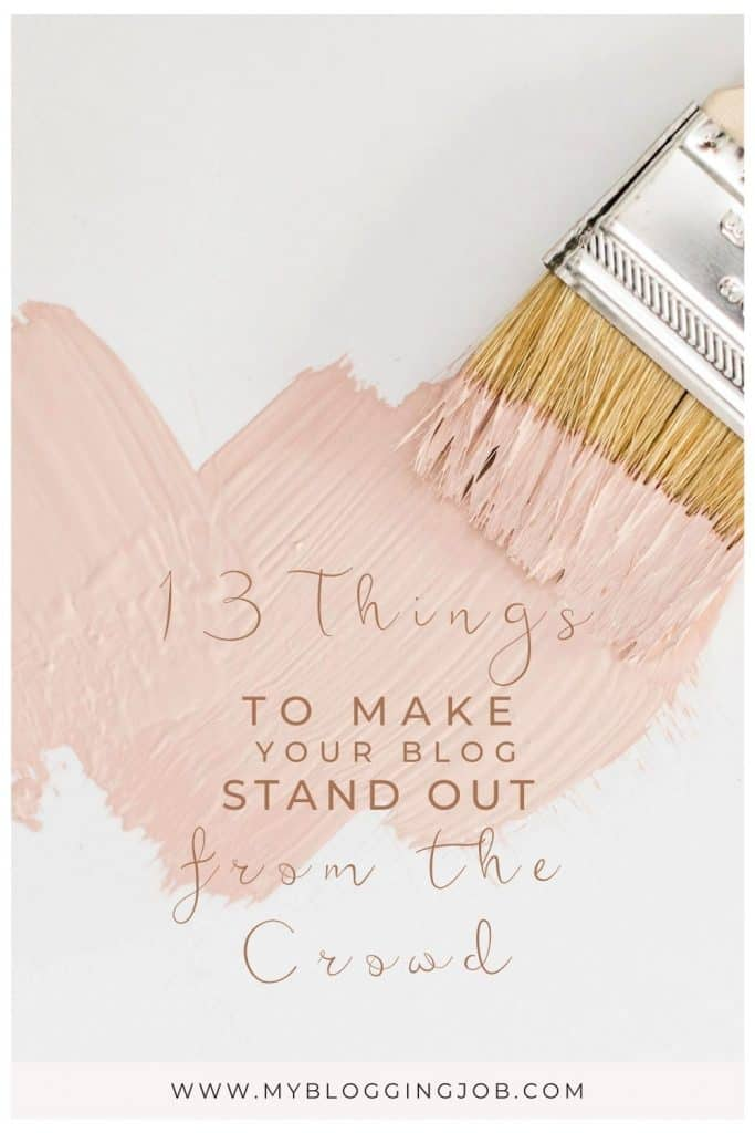 How to make your blog stand out from the crowd 01